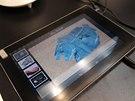 Plastický dotykový displej Fujitsu