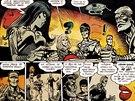Ukázka sci-fi komiksu Výprava ze Sixie.