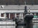 Ruské ponorky na námořní základně v Sevastopolu. Bojeschopná je podle...