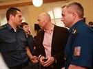U krajského soudu v Brně si vyslechlo rozsudky 13 obviněných z kauzy takzvaného...