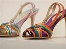 Sarah Jessica Parkerov� p�edstavila svou novou kolekci bot.