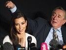 Kim Kardashianová už na konferenci před plesem upozorňovala, že netančí.