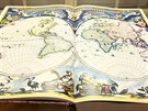 Jeden z exponátů nové výstavy Kouzlo starých map.