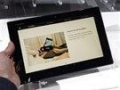 Sony Xperia Z2 tablet na veletrhu MWC v Barceloně