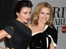Sestry Dannii a Kylie Minogue (19. �nora 2014)