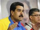Venezuelský prezident Nicolas Maduro (20. 2. 2014)