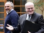 Jiří Fajt (vlevo) a Daniel Herman