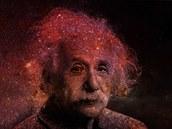 Albert Einstein měl hlavu plnou vesmíru. Ilustrační snímek.