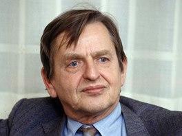 Švédský premiér Olof Palme