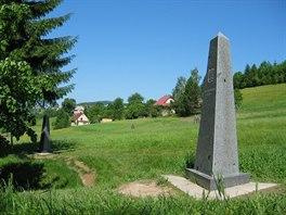 Trojmezí. Místo kde se setkávají hranice Česka, Polska a Slovenska