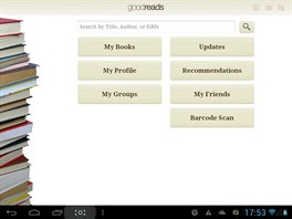 Aplikace Goodreads je pro knihomoly nezbytnost�.
