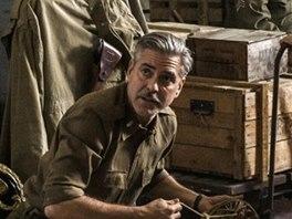 Z filmu Památkáři (zleva Dimitri Leonidas, George Clooney, John Goodman, Bob