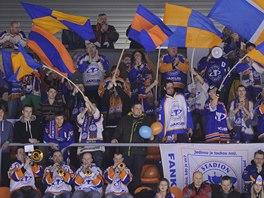 Fanoušci hokejistů Litoměřic