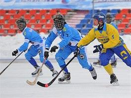 Momentka z utkání Somálsko - Ukrajina.