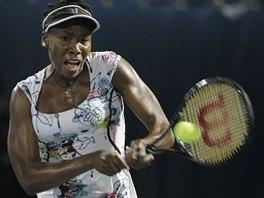 Americká tenistka Venus Williamsová na turnaji v Dubaji