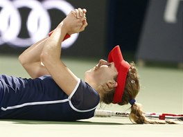 JSEM VE FIN�LE! Francouzsk� tenistka Alize Cornetov� pr�v� v Dubaji porazila