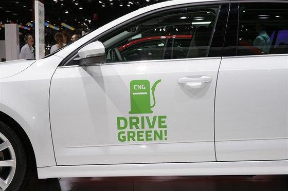 Škoda Octavia G-TEC jezdí na zemní plyn