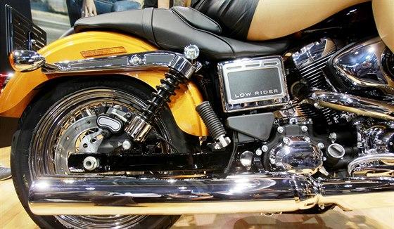 Premiéra nového Harleye-Davidson Low Rider na Na Motosalonu v Brně
