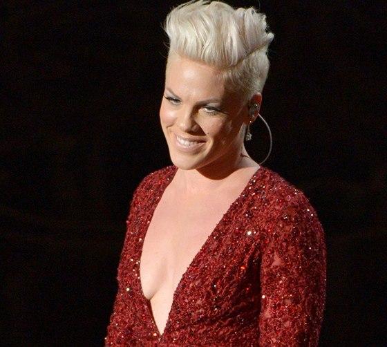 Pink p�i vystoupen� na Oscarech