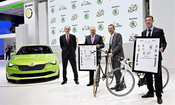 Automobilka Škoda Auto prodloužila 4. března o dalších pět let oficiální...