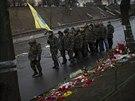 N�stup na Majdanu. Do revolu�n� domobrany se hl�s� des�tky Ukrajinc�. (4....