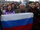 Proruské shromáždění v Simferopolu (6. března 2014)