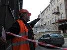 Ačkoli to navenek není příliš znát, demolice části areálu bývalého Slezanu v