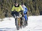 Mezi �ty�iceti dobrodruhy, co si na Iditarod Trail Invitational troufli, se