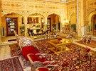 Apartmá Šahi Mahal, Radž Palace Hotel, Indie, Džajpur