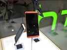 HTC Desire 816 na veletrhu MWC v Barceloně