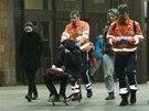Z�chran��i v noci na sobotu odvezli z hotelu Ol�anka na t�icet italsk�ch