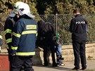 V Čelákovicích došlo k požáru a následně k výbuchu v rodinném domě.
