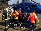 V Čelákovicích došlo k požáru a následně k výbuchu v rodinném domě. Pro jednoho...