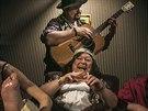 Inscenace Romeo a Julie v Klicperov� divadle v Hradci Kr�lov�.