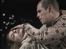 Romeo Montek a Julie Kapuletov�  v pod�n� Vojt�cha Dvo��ka a Marie Poulov� v...