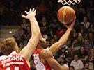 Pardubice zažily basketbalový víkend. Po sobotním smečování v AFI Palace...