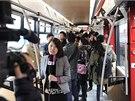 Slavnostní představení tramvaje ForCity v Číně.