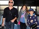 Jude Law se svými dětmi