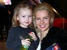 Kate�ina Kristelov� s dcerou Claudi�