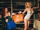 Moder�torky po�adu Fashion Time Lenka Vacvalov� a Martina H�eb�kov� p�zovaly v...