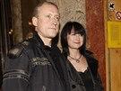 Kamil Střihavka s manželkou, která je vzdálenou příbuznou Lídy Baarové.