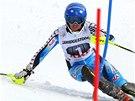 Frida Hansdotterová ve slalomu v Aare.