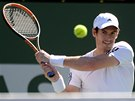 Andy Murray na turnaji v Indian Wells