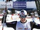 Anders Glöersen se raduje z vítězství v závodu dálkových běžců na lyžích -