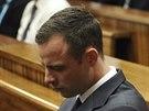 Oscar Pistorius v soudn� s�ni v Pretorii.
