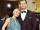 Herečka Elsa Pataky s manželem Chrisem Hemsworthem