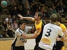 Momentka z utkání Brno - Plzeň