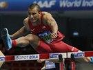 Ashtonu Eatonovi z USA nevyšel na halovém šampionátu v Sopotech útok na světový...