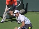 Tom� Berdych prohr�l ve 2. kole turnaje v Indian Wells s Robertem Bautistou...