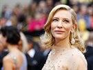 Herečka Cate Blanchettová zazářila ve filmu Jasmíniny slzy (2. března 2014).